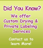 Batth Farms Custom Drying and Private Label Services